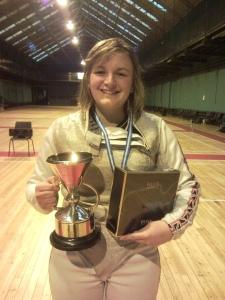 Helen is Yorkshire Champion