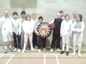 British Senior Foil trophy