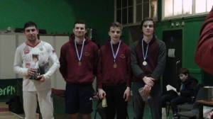 All the Medallists in the Mens Foil